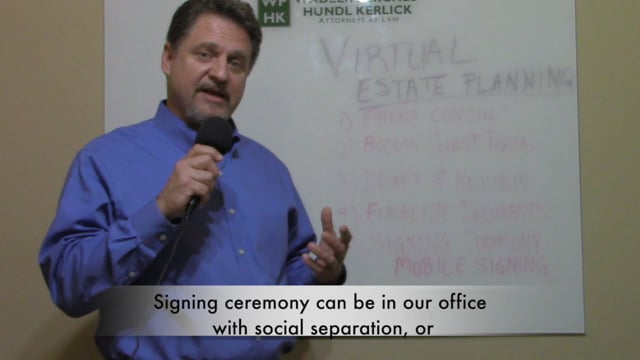 We Offer Virtual Estate Planning - Attorney Ray Kerlick