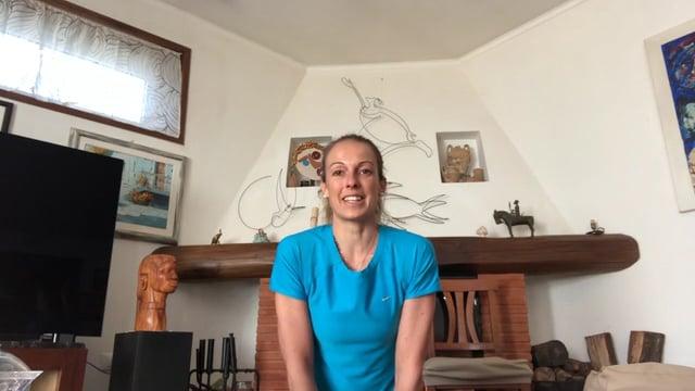 Sport a casa con Flavia Tartaglini