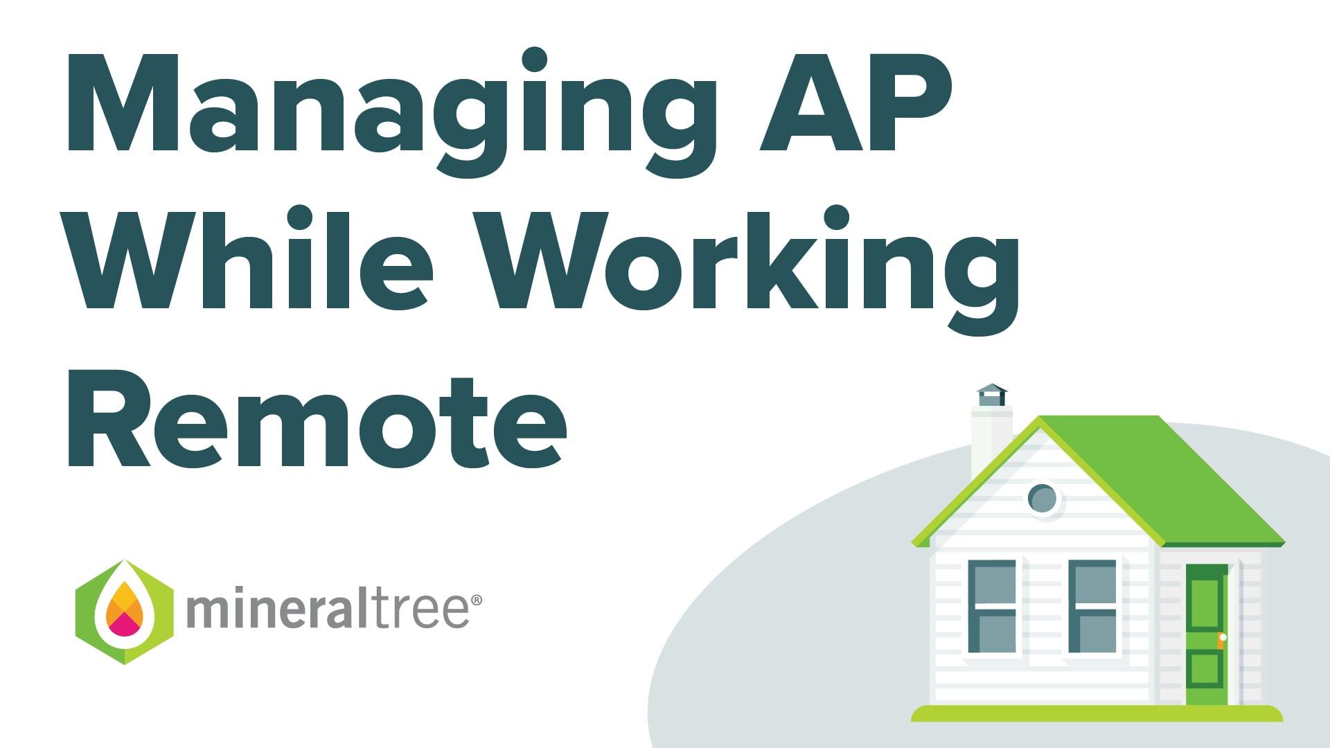 Managing AP While Working Remote