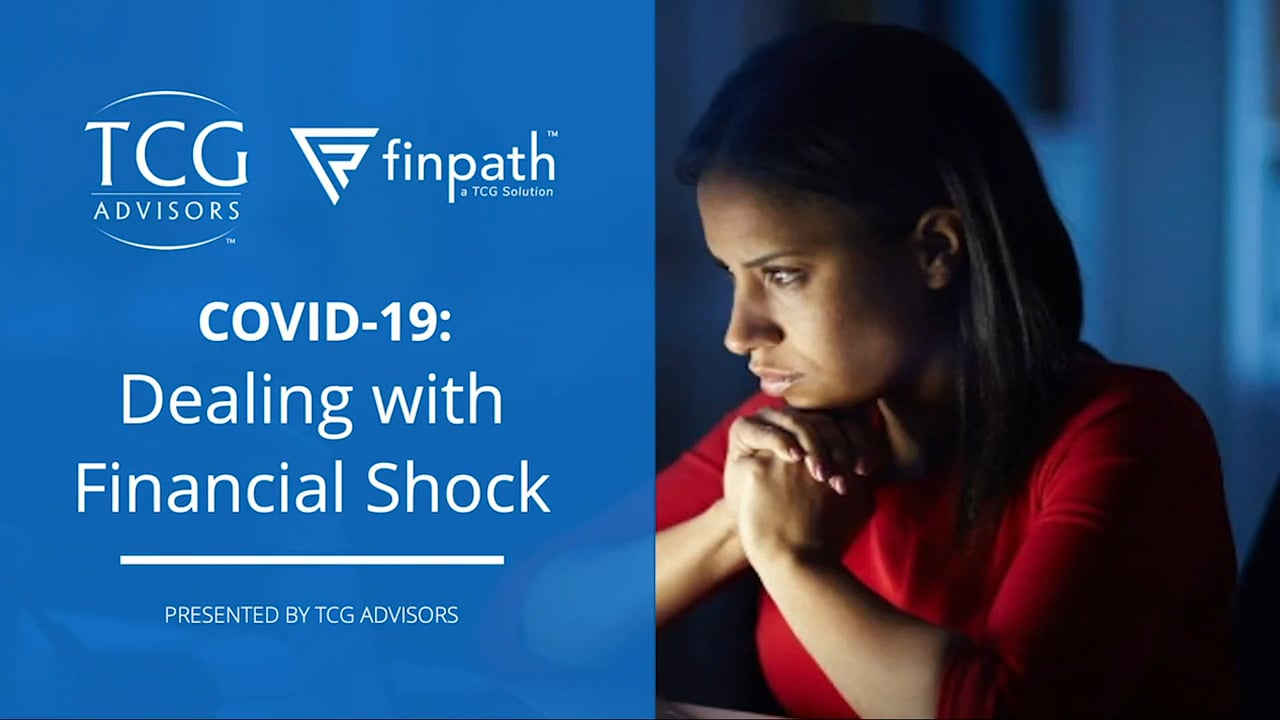Dealing with Financial Shock of COVID19