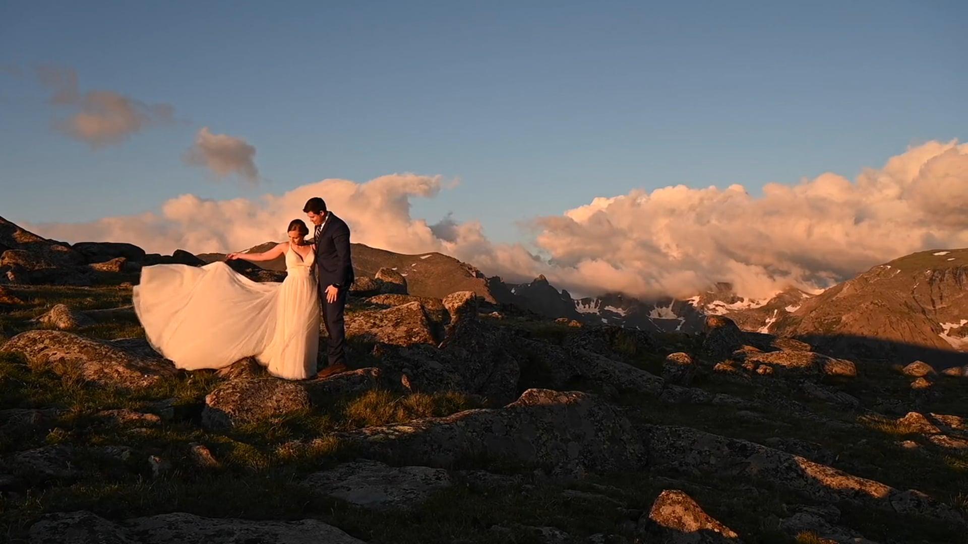 Rocky Mountain Sunrise Elopement - Kelsey & Mark