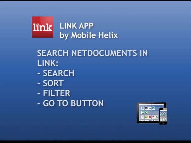 How to Search NetDocuments in LINK 5:53