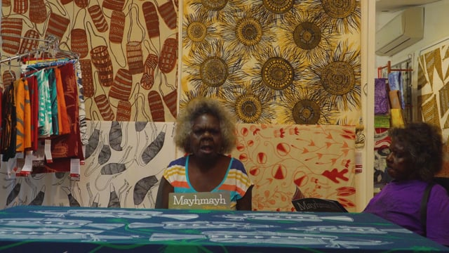 Christine Reading Mayhmayh 2
