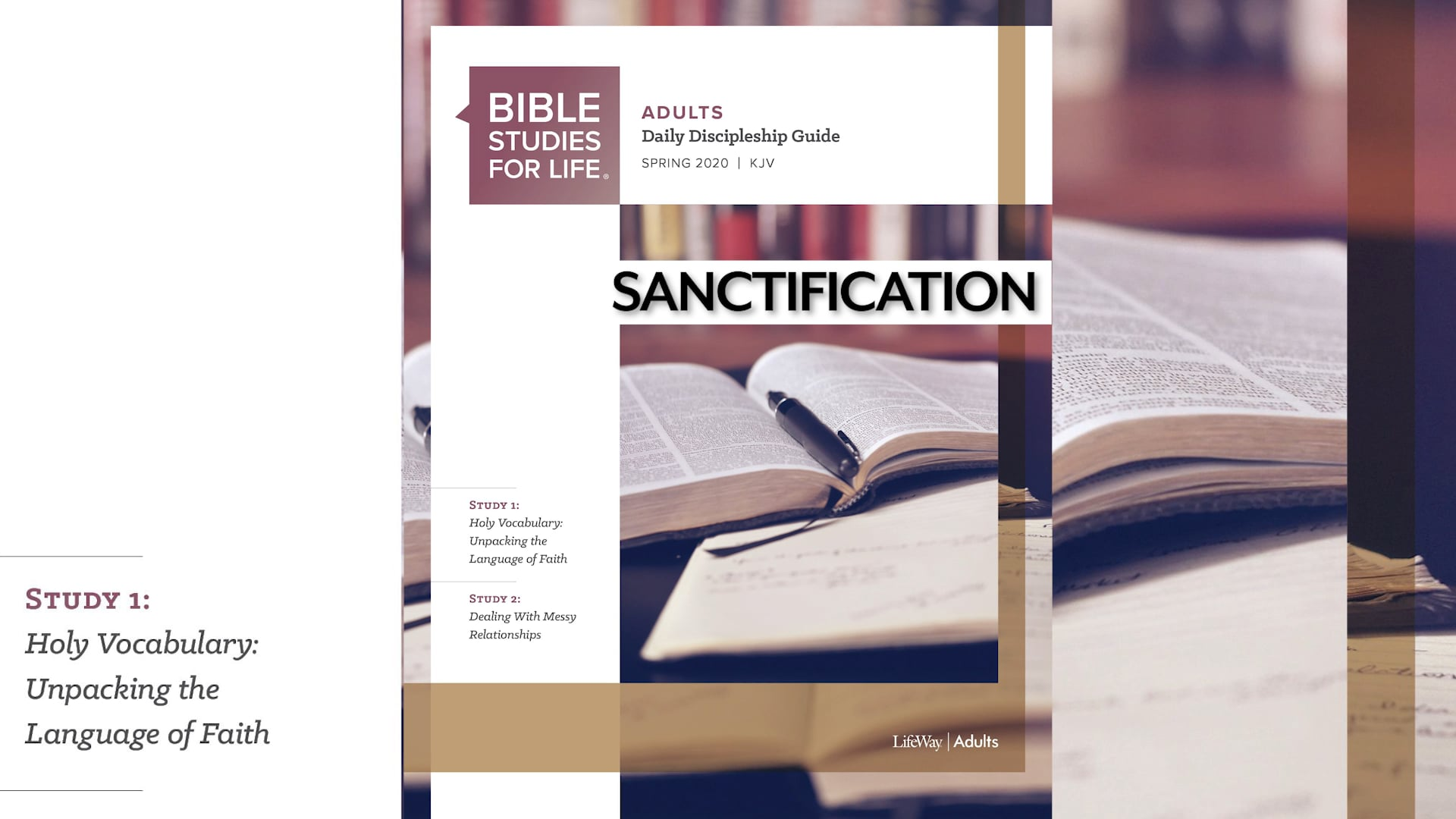 03.27.2020 Bible Studies for Life (Tommy / Ricky) FBCPC