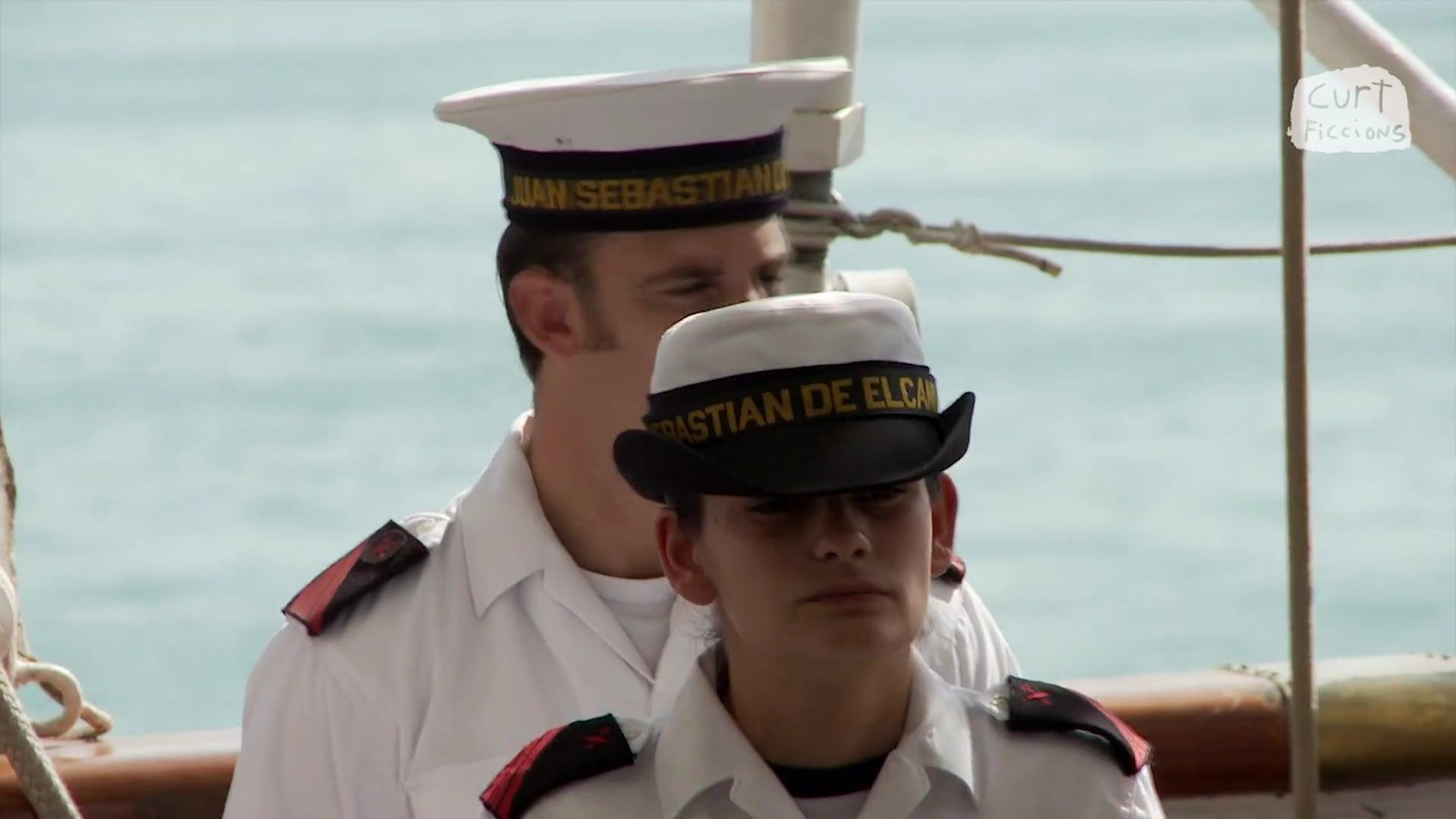 'Elcano, el barco blanco'