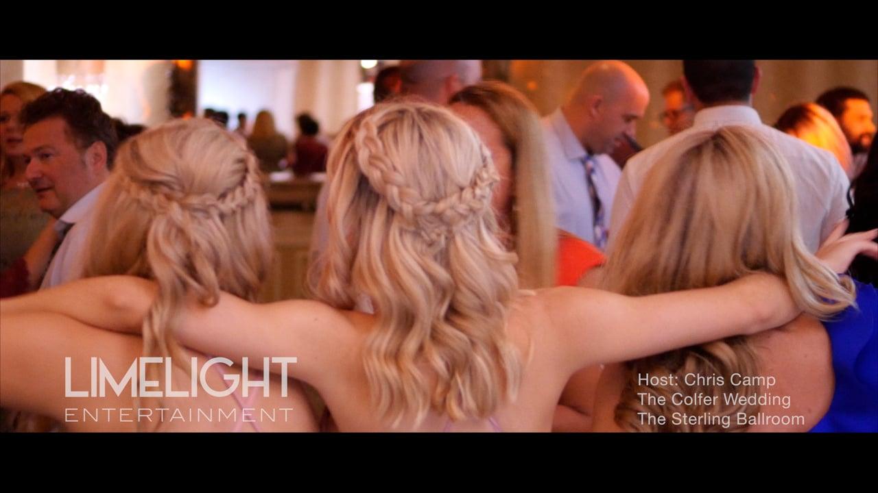 The Colfer Wedding   Sterling Ballroom   Chris Camp of Limelight Entertainment