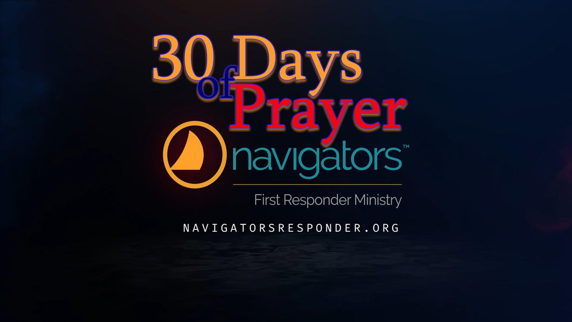 Spring 2020: 30 Days of Prayer: Video 1 - The Prayer Warriors