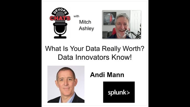 EP 277: What Is Your Data Really Worth Data Innovators Know. Splunk