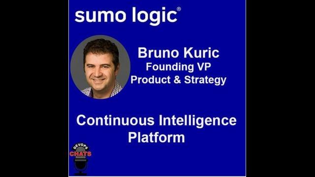 EP 273: Sumo Logic Continuous Intelligence w Bruno Kurtic