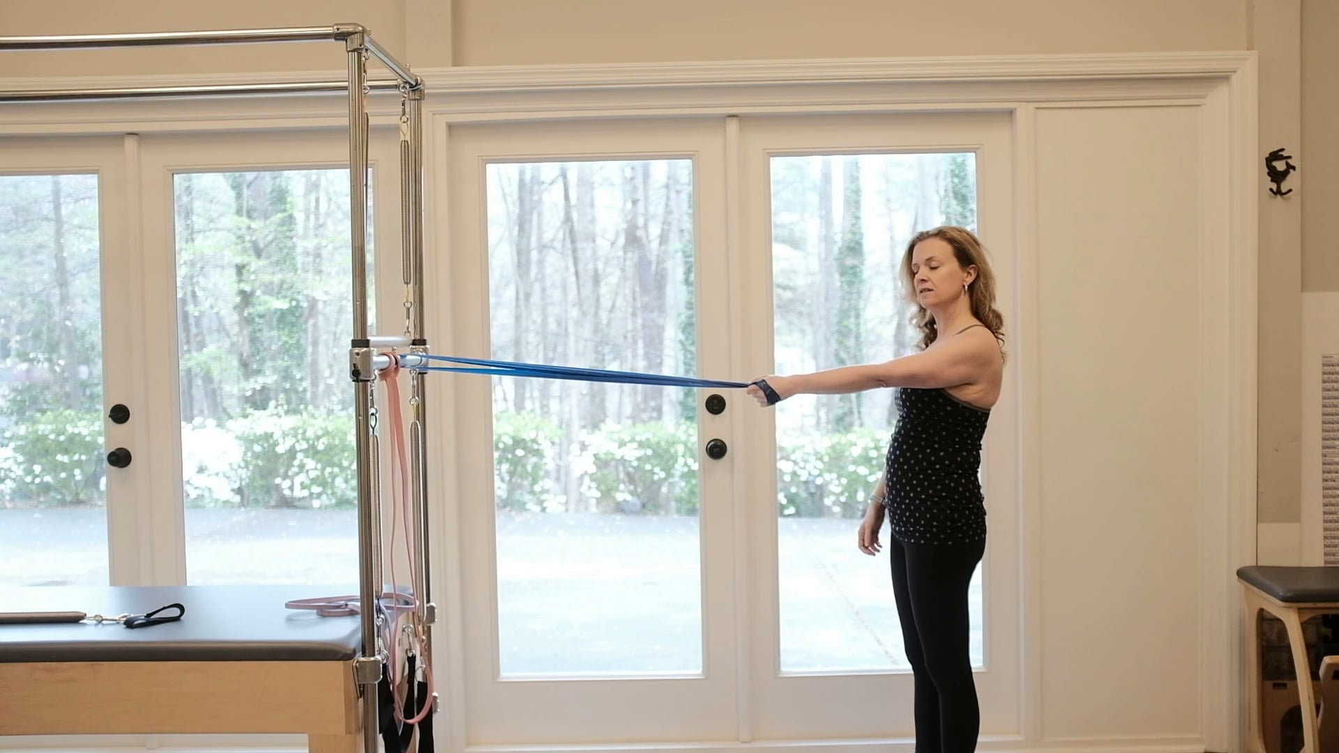 Shoulder mobility with Band