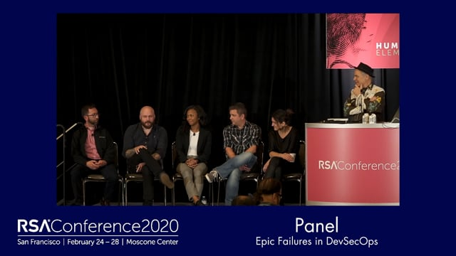 Panel - Epic Failures In Devsecops