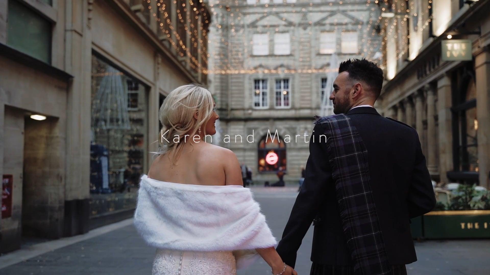 Karen and Martin - 29 Glasgow (Cinematic Highlights)