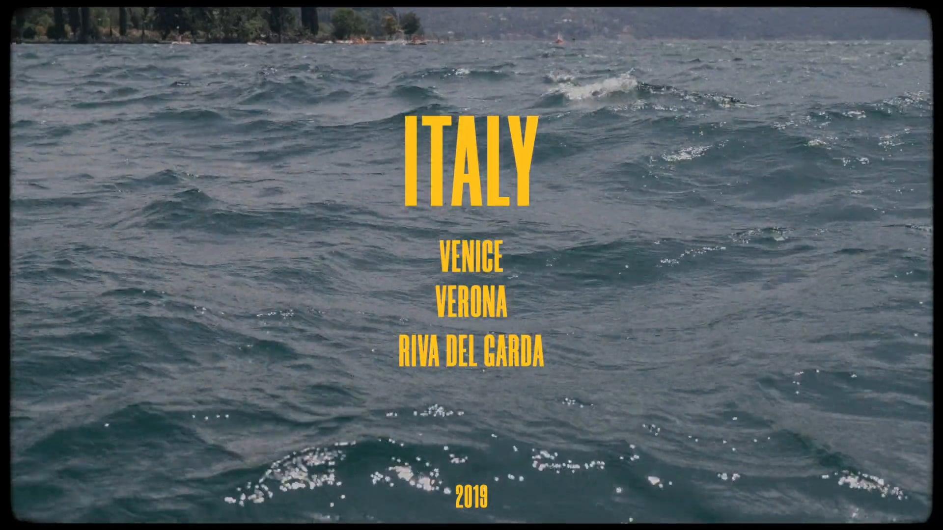 ITALY; VENICE/VERONA/RIVA DEL GARDA 2019