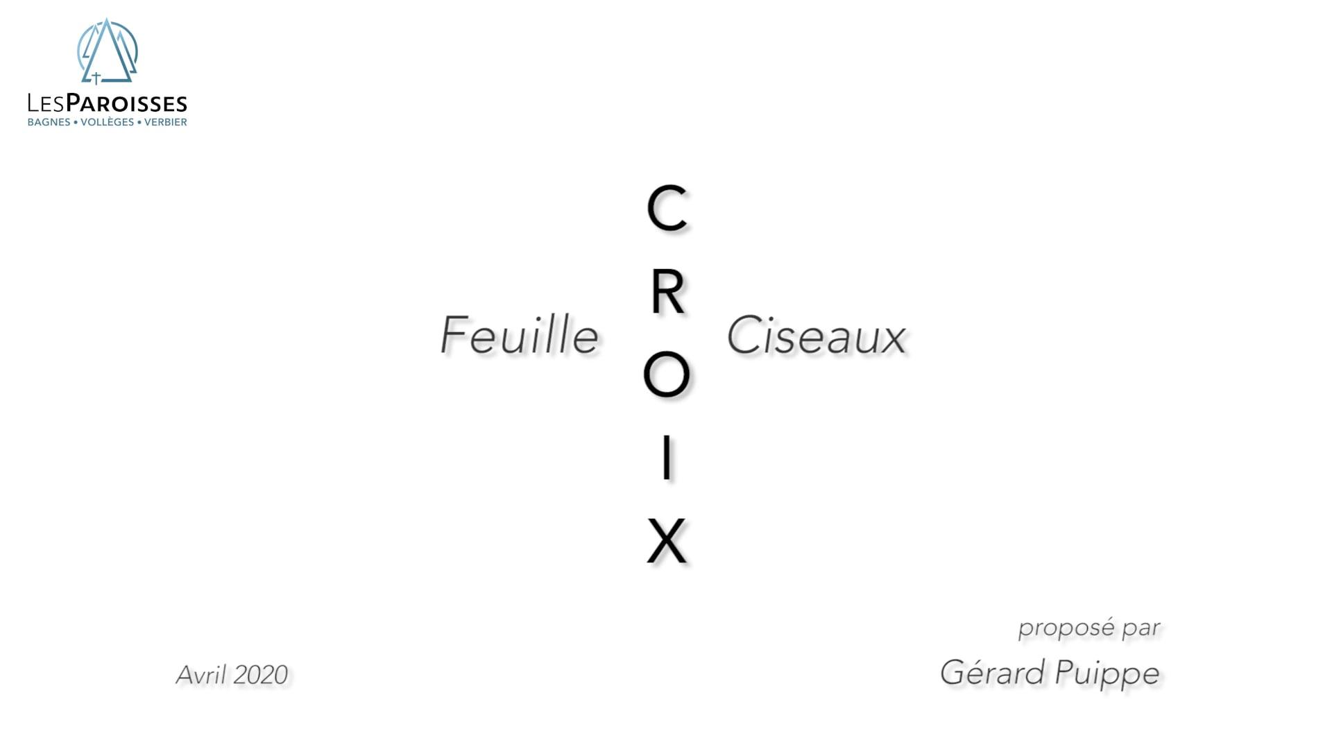 Feuille - Croix - Ciseaux
