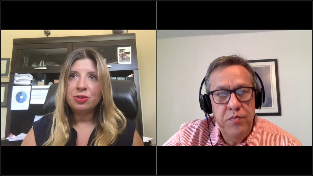 Michelle Ragusa-Bain and Julian Lee talk about the channel navigating the pandemic