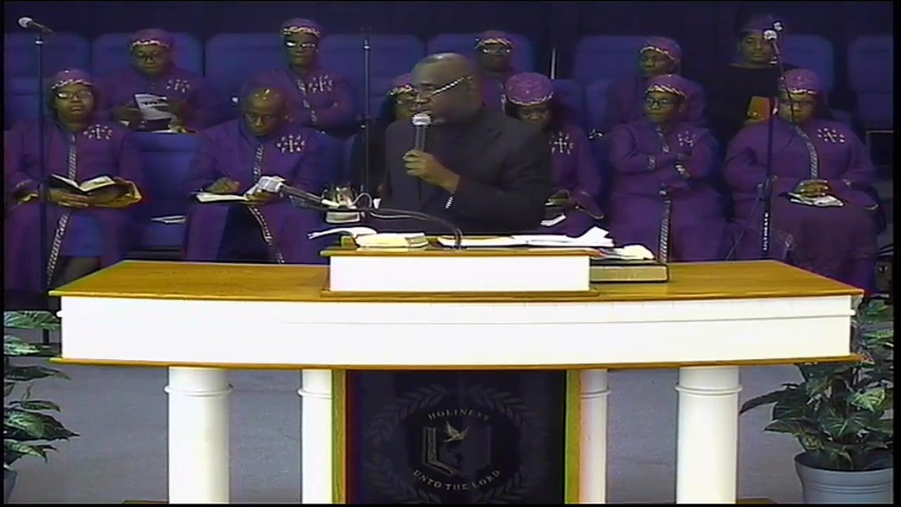 03-01-20, Elder Wayne Brown, A Preacher of Righteousness