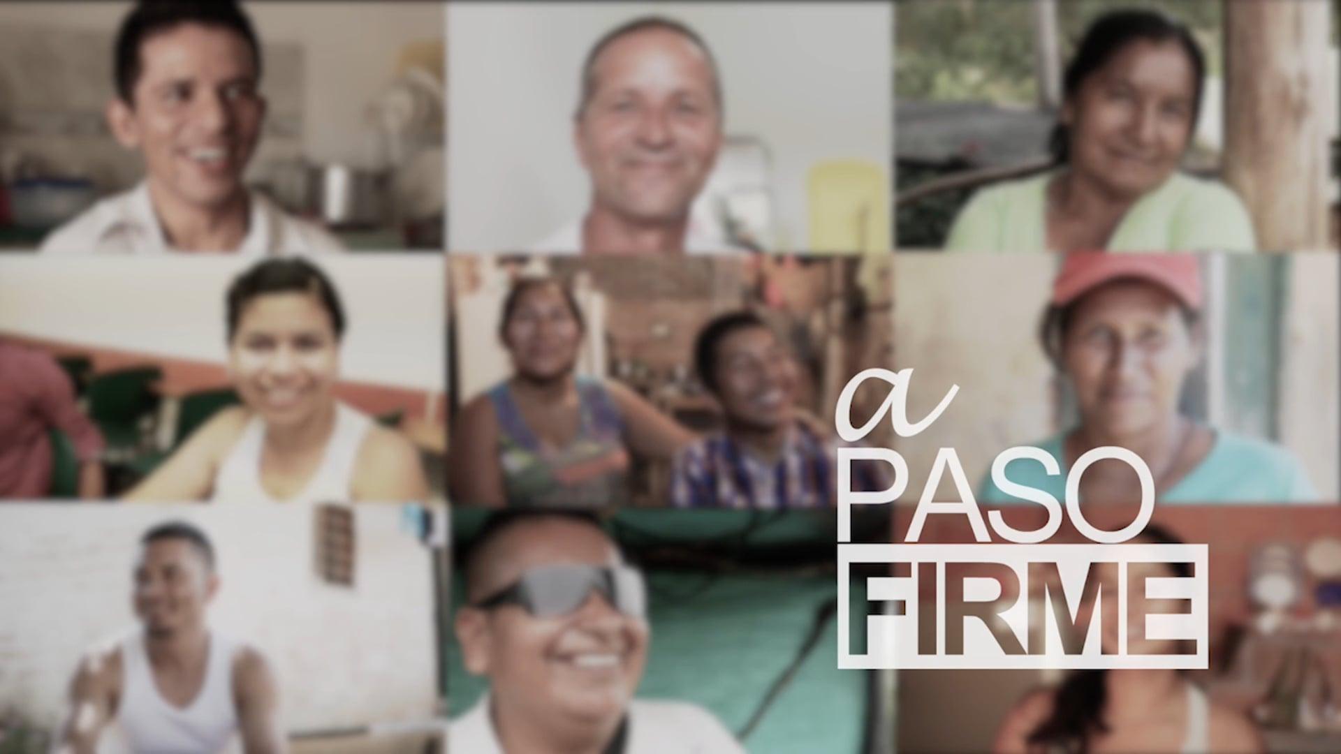 A PASO FIRME, documentary