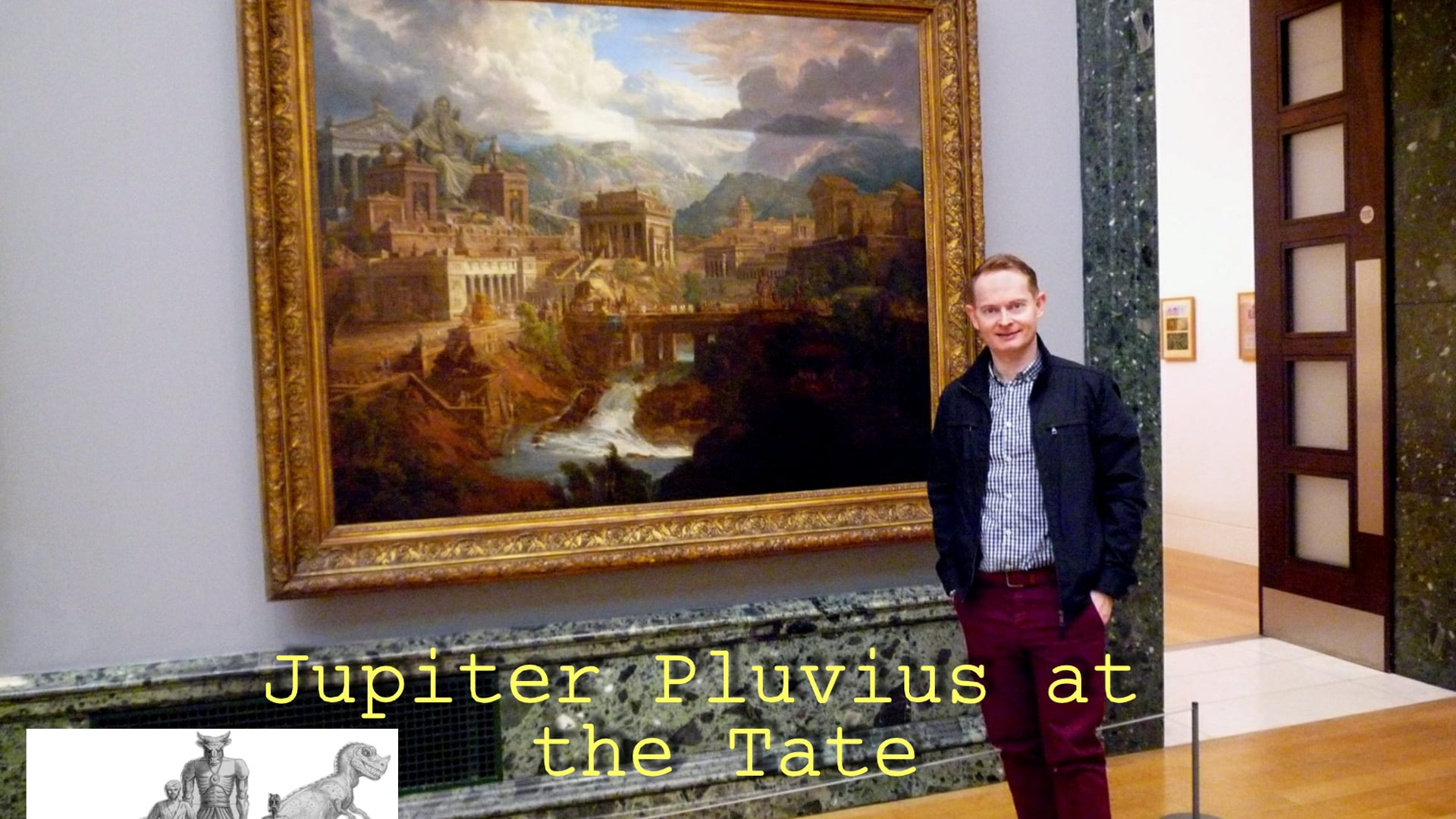 Ray Harryhausen- 'Jupiter Pluvius' at Tate Britain