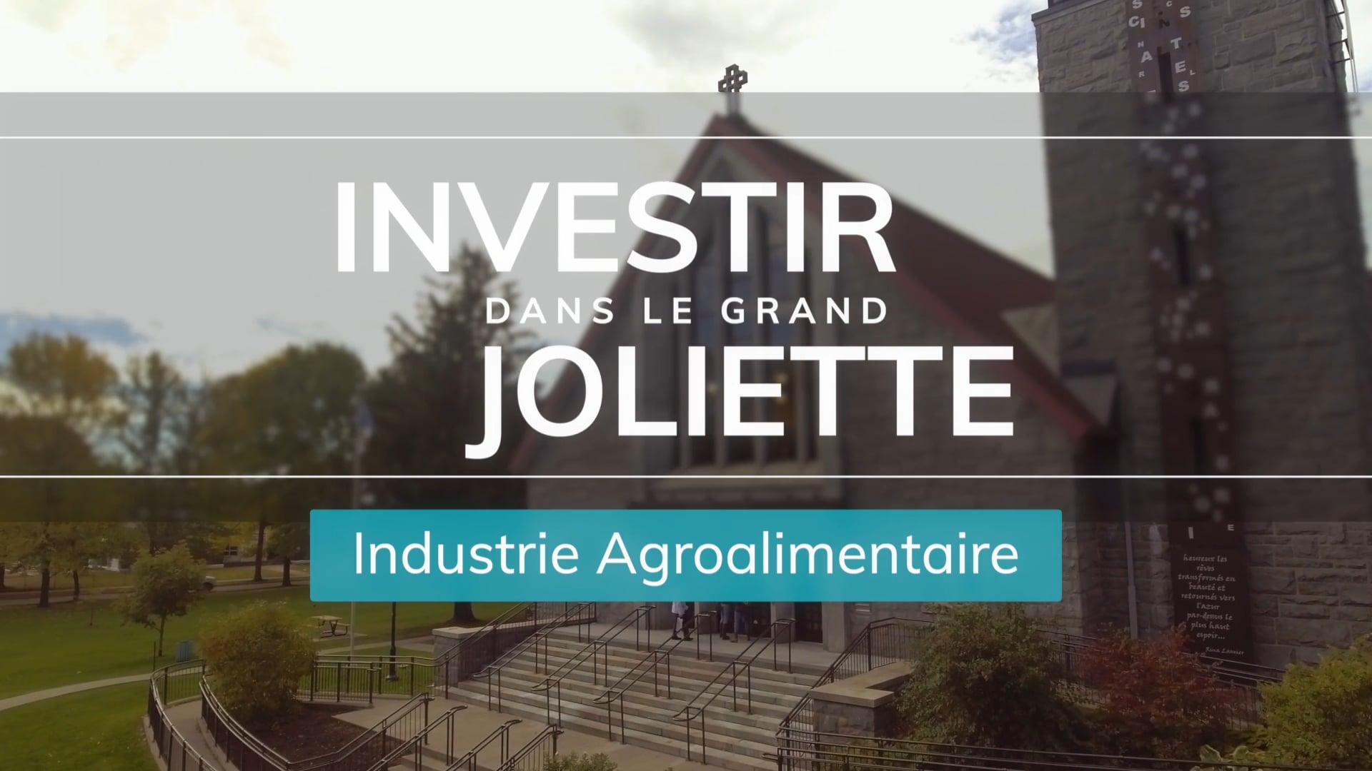 Investir dans le grand Joliette - Publicité Agroalimentaire