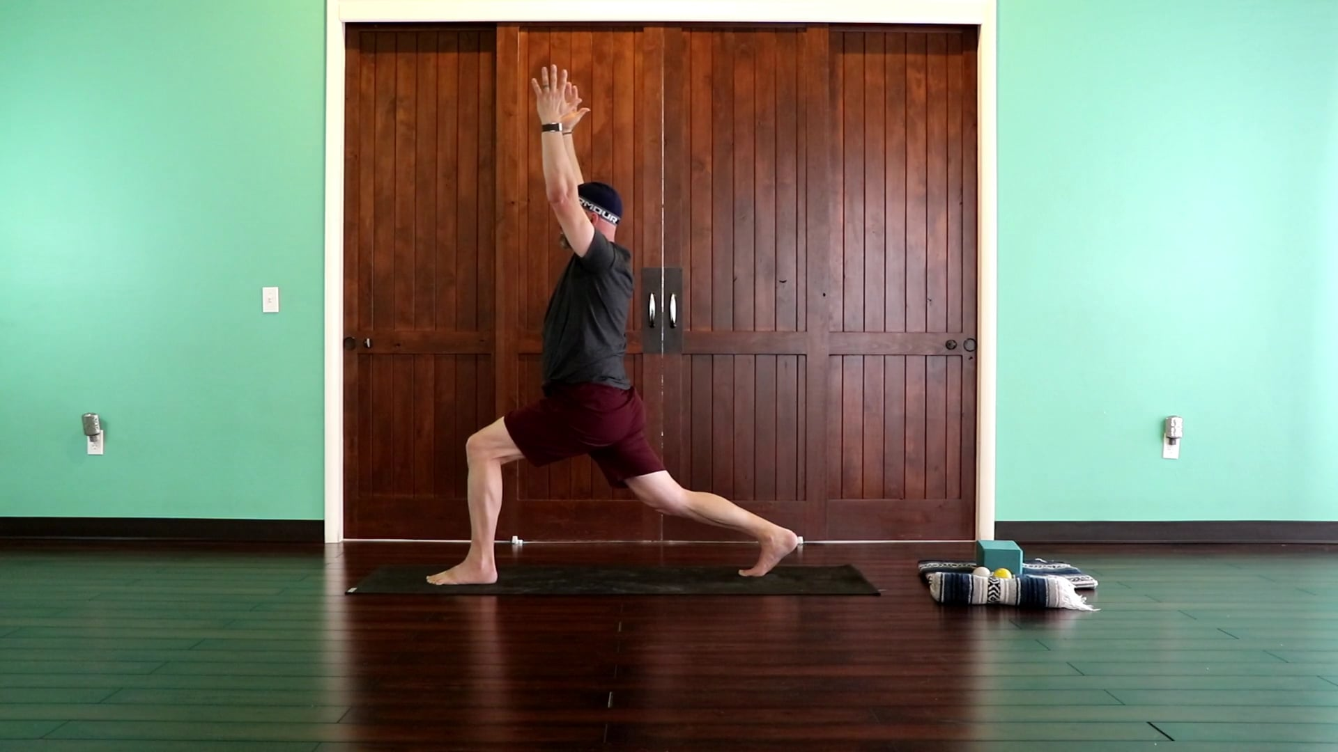 25 Minute BALANCE   Open Body + Shoulder RX with Lacrosse Ball