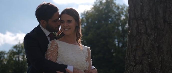 Madeleine & Romain Borris House wedding film