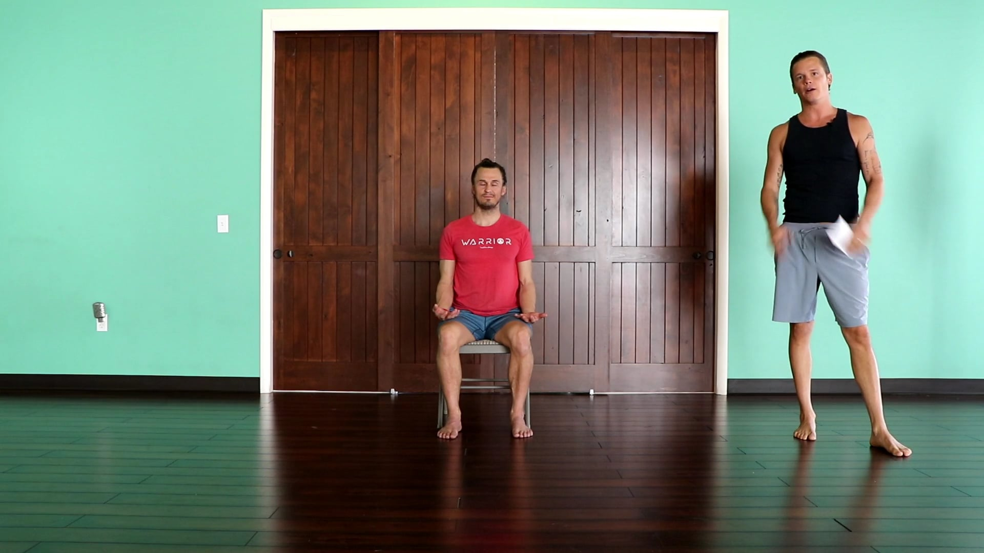 25 Minute BALANCE   Desk Posture & Chair Relief