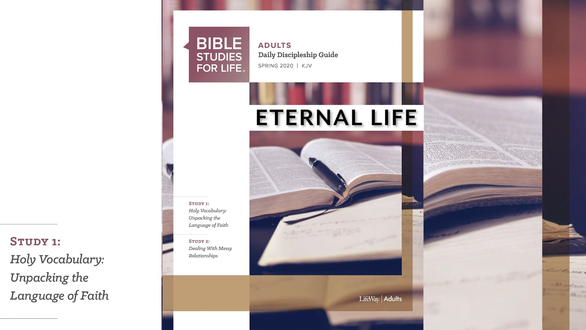04.03.2020 Bible Studies for Life Tommy Ricky FBCPC