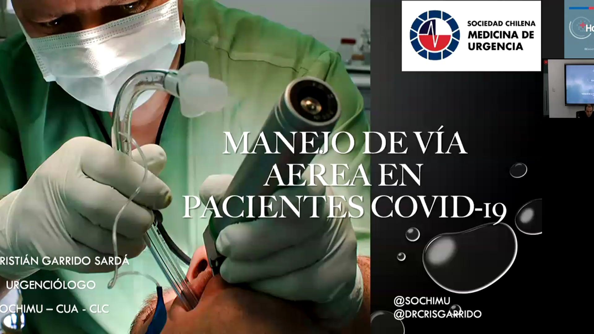19-03-2020 - Manejo de la Vía Aérea en la Urgencia en el Paciente COVID-19