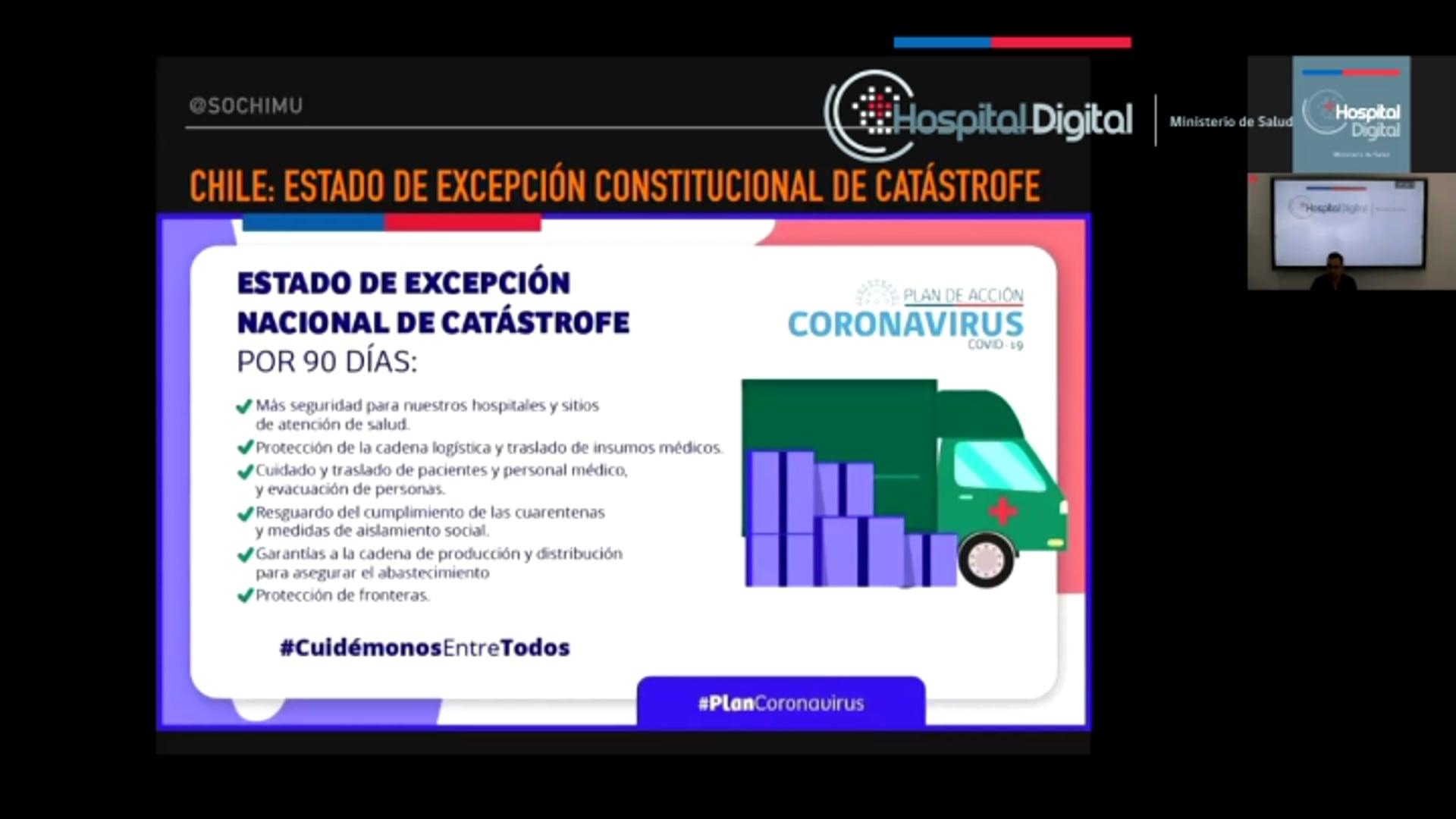 18-03-2020 - Manejo en Urgencia del Paciente Sospechoso de COVID-19 más Criterios de Ingreso