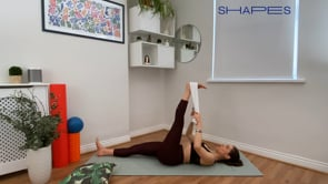 Feel Taller and Longer – (stretch with towel)
