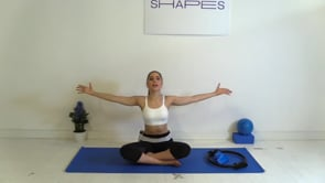 Upper Body Focus (with Band and Pilates ring)