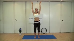 Lower Body focus (with Pilates ring)