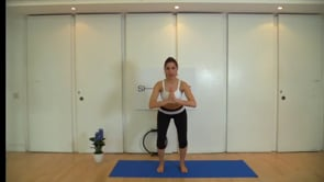 Intense lower body focus (with Pilates ring)