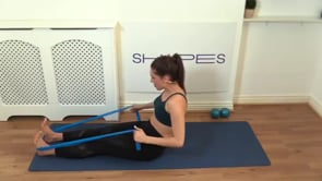 Upper Body Focus ( with band and small weights)