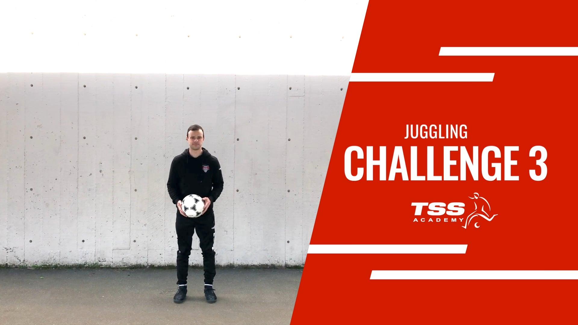 TSS Juggling Challenge 3