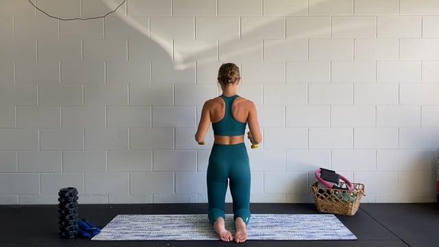 20min dumbbell upper body workout