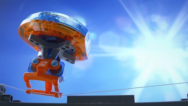 The Amazing Tightrope-Walking Gyrobot B-Roll