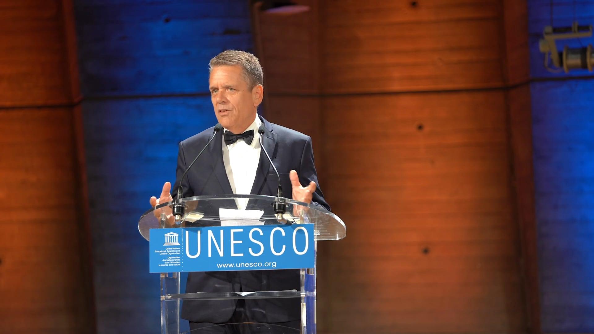 Thomas Vonier - Paris, UNESCO - 12 September 2019 / Thomas Vonier - Paris, UNESCO - 12 septembre 2019