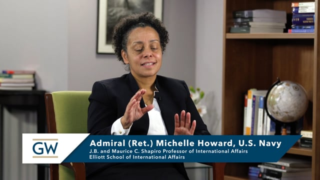 Admiral Michelle Howard: Importance of Cyber Domain in Navy