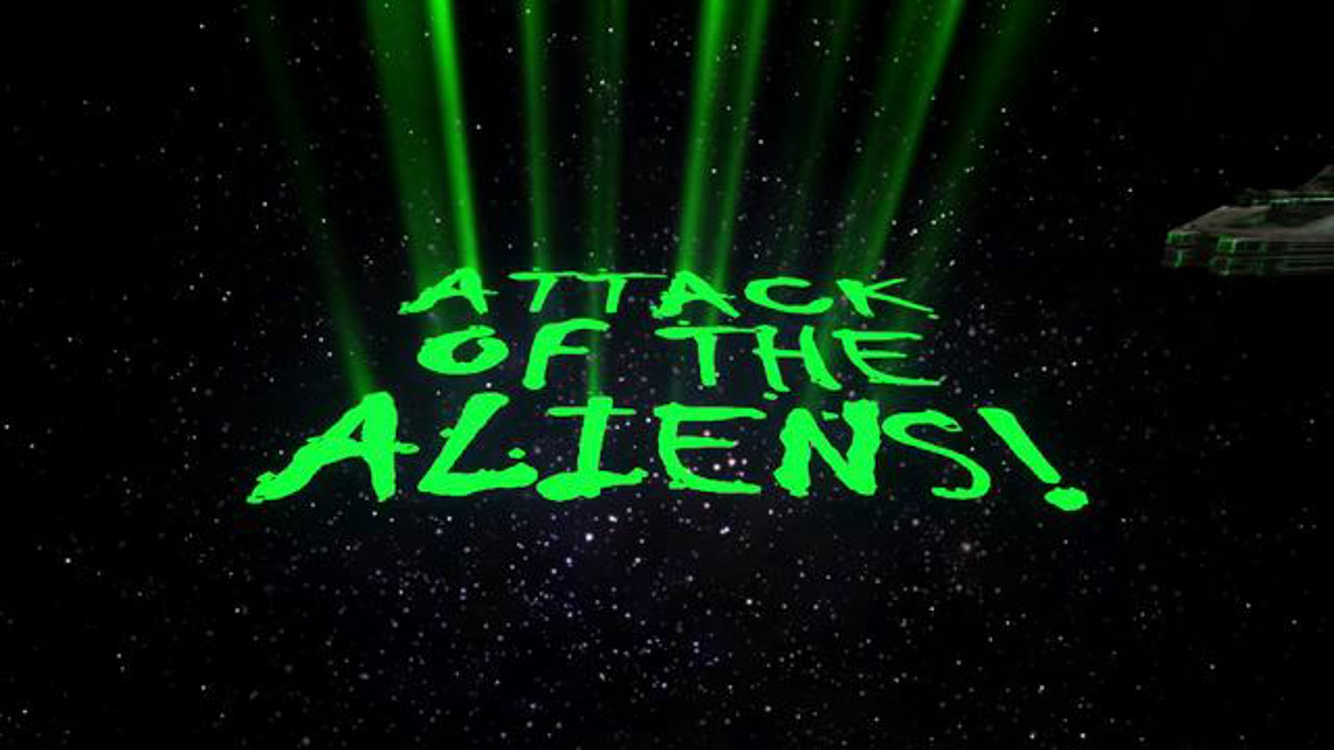 Attack Of The Aliens! (2010) HD