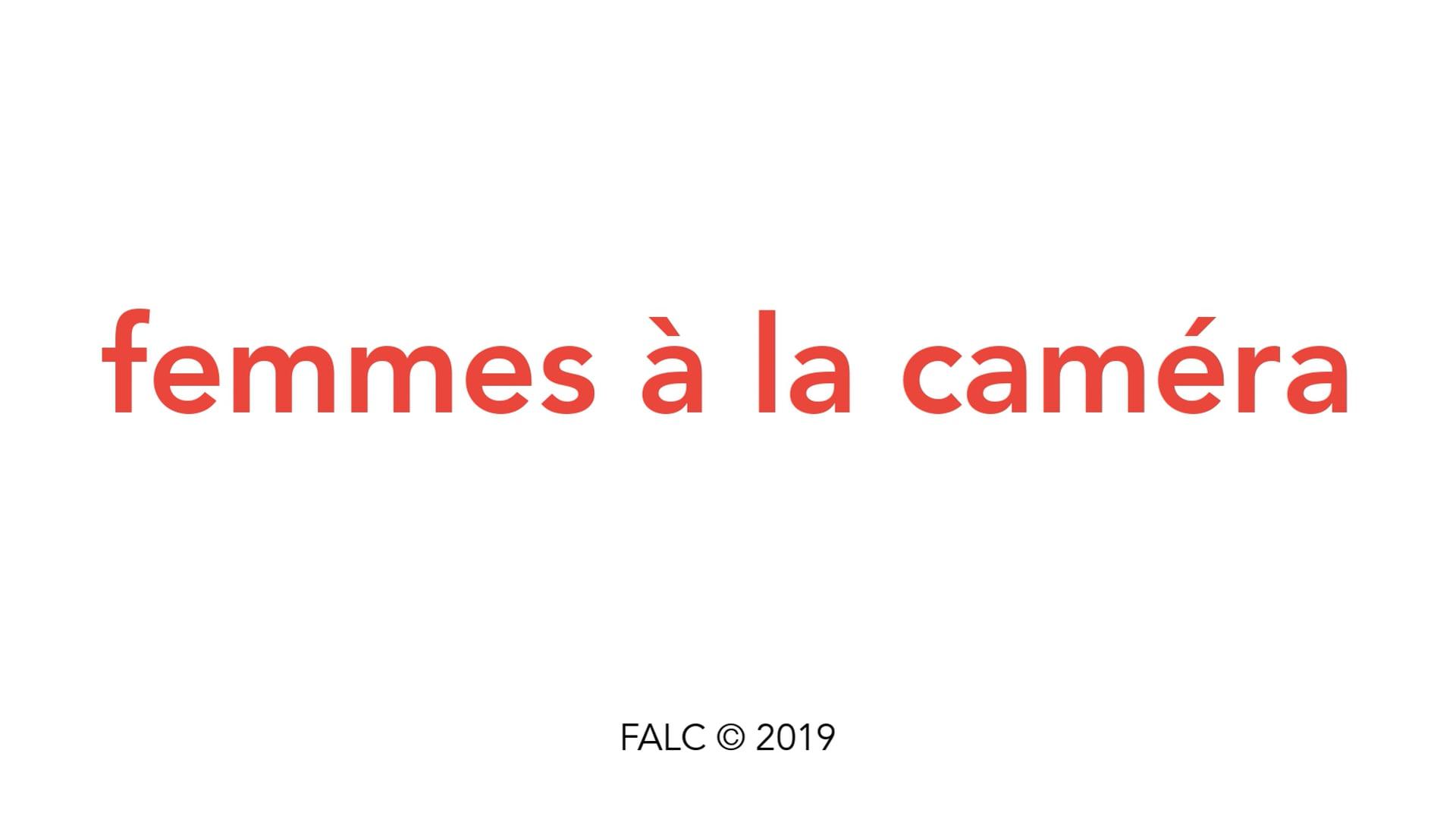 Femmes à la caméra Micro Salon 2020 - Présentation et débat