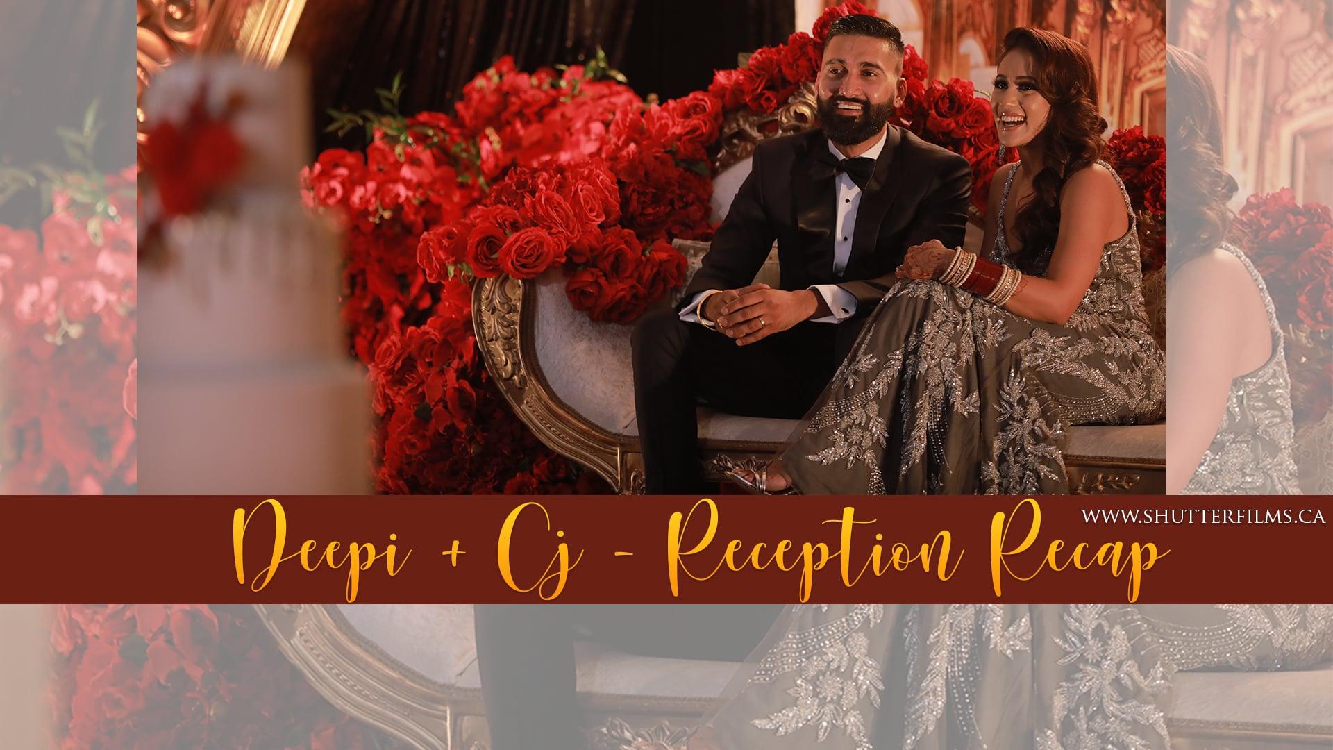 Deepi + CJ   Reception Recap
