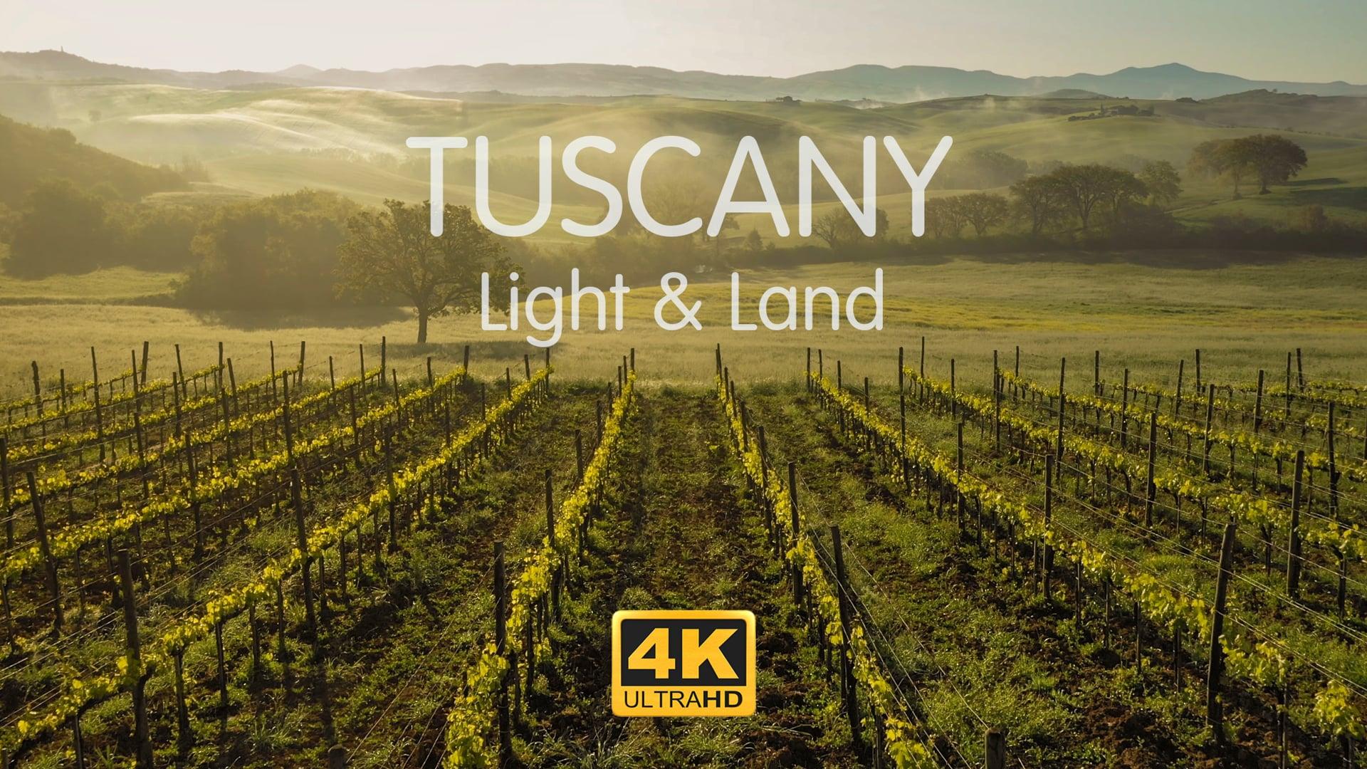 TUSCANY. Light & Land