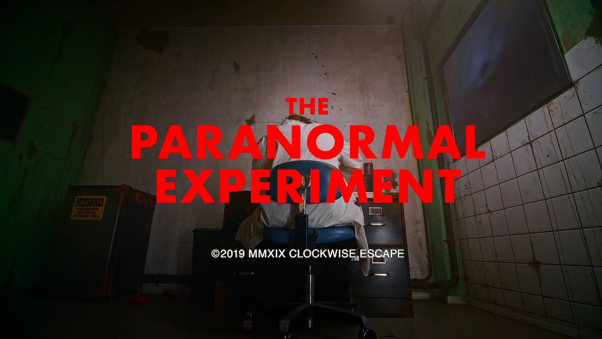 The Paranoral Experiment // Clockwise Escape