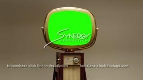 1744 super cool Philco Predicta Continental green screen