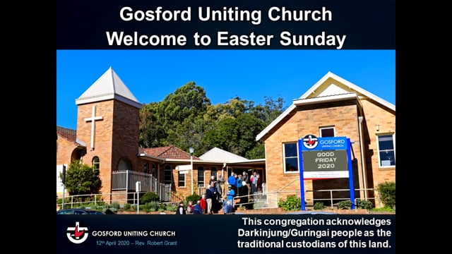 EASTER SUNDAY - 12th April 2020