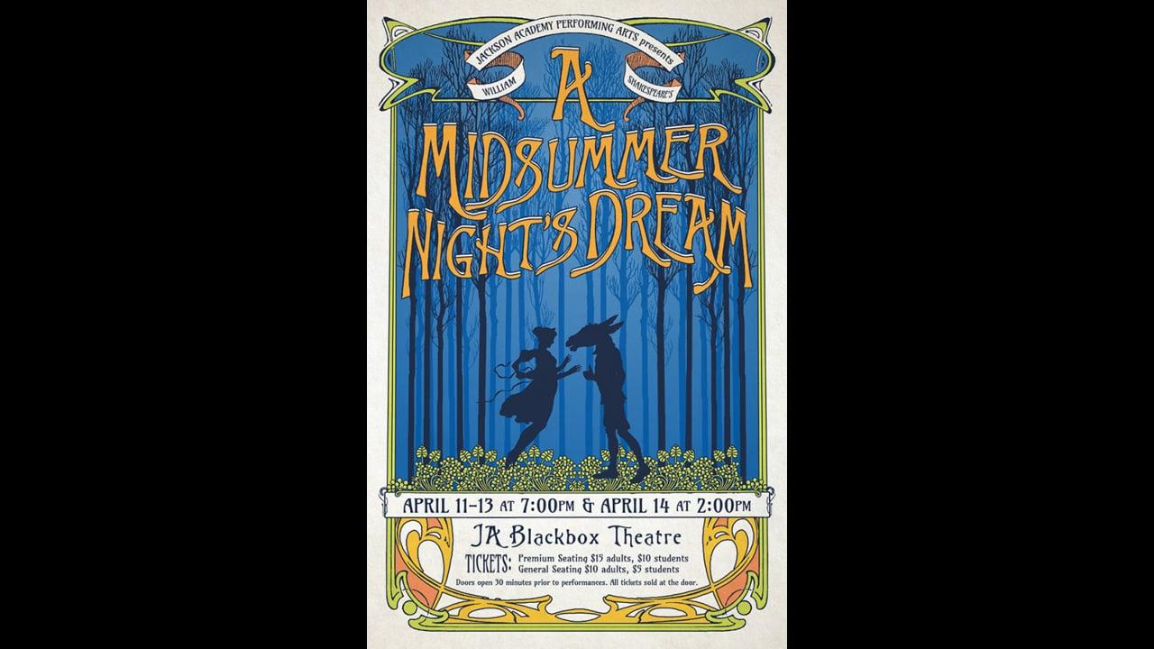 Arts-A Midsummer Nights Dream-2019-March 29