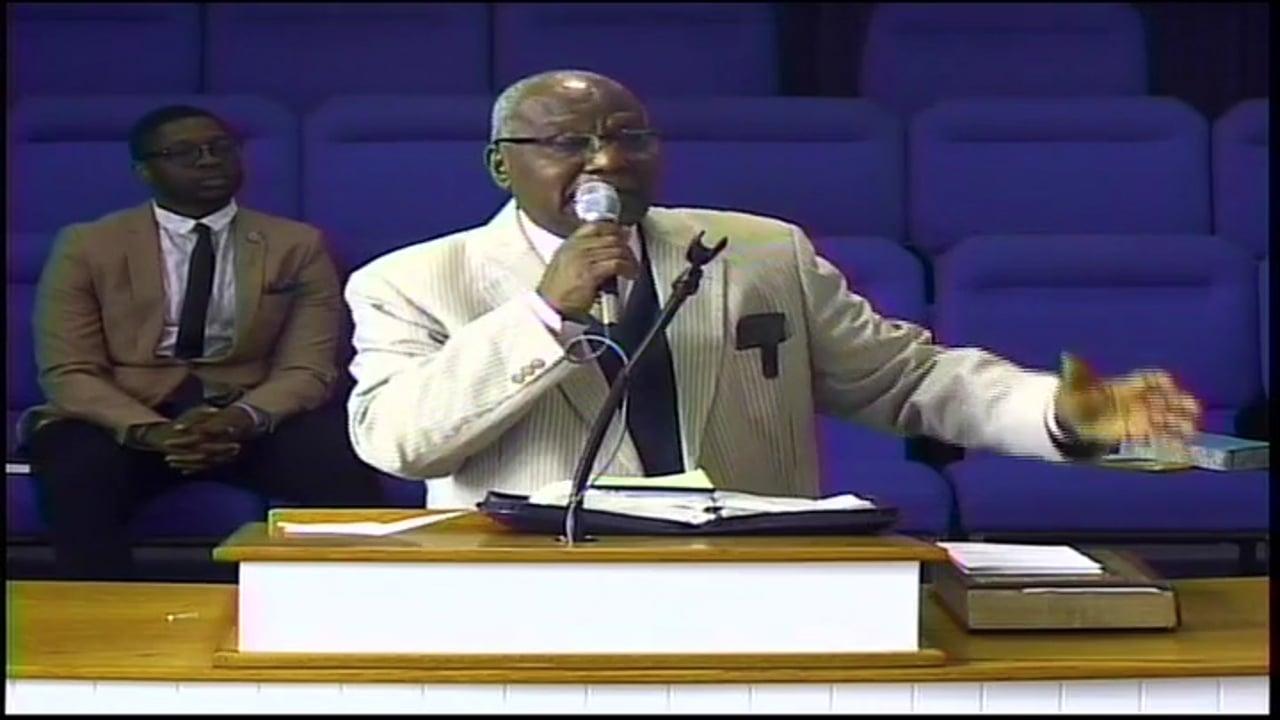 03-22-20, Bishop L. J. Barnes, God Is Our Refuge and Strength