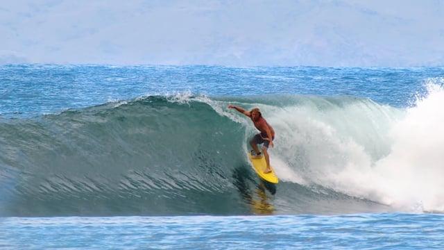 Fearless Surfers of Honolua Bay, Maui, Hawaii