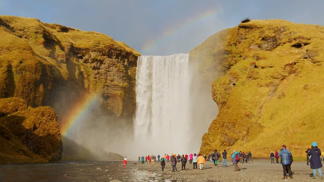 Waterfalls of Iceland - Nature Relax Video